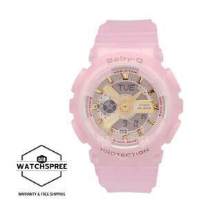 Casio Baby-G Special Colour Models Semi Transparent Pink Resin Band BA110SC-4A
