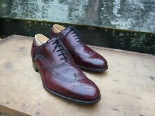 CHEANEY BROGUES – BROWN / BURGUNDY - UK 6.5 – EARLS CLUB - EXCELLENT CONDITION