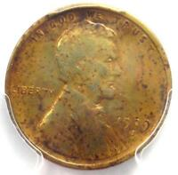 1909-S VDB Lincoln Wheat Cent 1C - PCGS VF Detail - Rare Date Certified Penny!