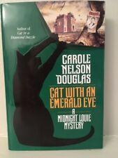 SIGNED-Cat with an Emerald Eye-Carole Nelson Douglas-NEW/Unread/MINT/HC/DJ/1st/1