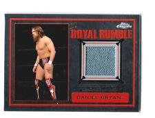 WWE Daniel Bryan 2014 Topps Chrome Event Used Royal Rumble Mat Relic Card