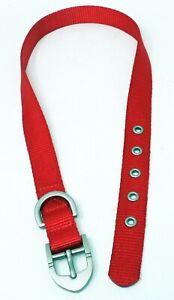 "TOP PAW Red Nylon 29"" Dog Collar (L) (NEW)"