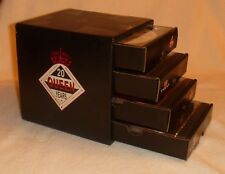 QUEEN ROCKS Twenty 20 Year Reign 1991 PROMO 4 CD BOXSET Cube Drawers Box Set