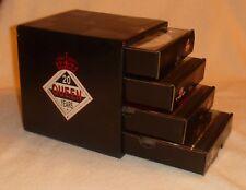 Queen Rocks Twenty 20 Year Reign 1991 Promo 4 Cd Boxset Cube Drawers Box Set