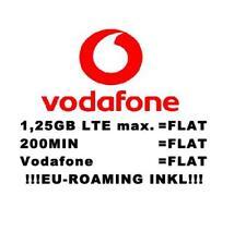VODAFONE CALLYA SMARTPHONE SPECIAL PREPAID SIM-KARTE INKL. FREIMONAT
