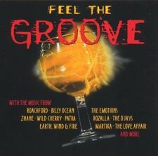 Feel The Groove Earth Wind & Fire, Wild Cherry, O 'Jays, Emotions, Patra...