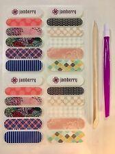 Jamberry 20 Accent Strips Nail Wraps Starter Kit