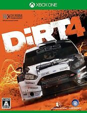 UBISOFT DiRT 4  MICROSOFT XBOX ONE  JAPANESE NEW IMPORT