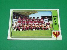 N°154 EQUIPE FC METZ PANINI FOOTBALL 86 CHAMPIONNAT FRANCE 1986