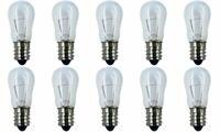 CEC Industries #6S6 130V Bulbs, 130 V, 6 W, E12 Base, S-6 shape (Box of 10)