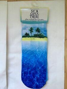 Bath & Body Works SEA YOU THERE Shea Infused Lounge Socks wt tags