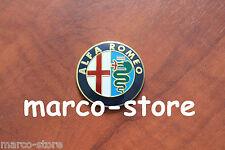 Logo Fregio Stemma Emblema Volante 40mm ALFA ROMEO 147 GIIULIETTA GIULIA MITO