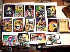 1992 MARVEL GHOST RIDER SERIES 2 COMPLETE BASE CARD SET! WOLVERINE SPIDER-MAN!!!