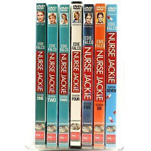 Nurse Jackie Complete Season 1 2 3 4 5 6 7 TV Series DVD R4 Good Condition