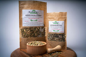 Kidney Tea by Moritz + Liver Tea SET 100% Natural Cleansing/Dandelion/Hydrangea