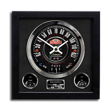 Speedometer Art Print Wall Clock Mini Cooper Monte Carlo