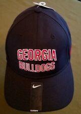 #1281 Georgia Bulldogs Nike Swoosh Flex Youth Black Hat/Cap NWT