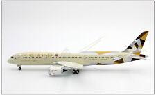 31.5CM 1:200 ETIHAD BOEING 787-9 Passenger Airplane ABS Plastic Assembled Model