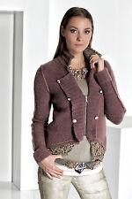 Feine Damen-Pullover & Strickware mit V-Ausschnitt ohne Muster und Reißverschluss