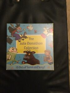 The Julia Donaldson Collection 10 Audio CD Disks of Stories and Songs! (Gruffalo