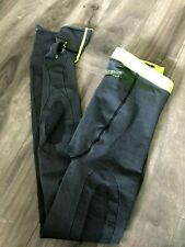 Zoot Recovery 2.0 Gray Pants Tights Antimocrobial Size 3