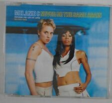 MELANIE C ft LISA LEFT EYE LOPEZ ~ Never Be The Same Again ~ CD SINGLE ENHANCED