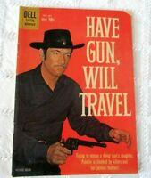 1950/'s Richard Boone PALADIN Western Rider Gunfighter custom  Hang Tag TV card