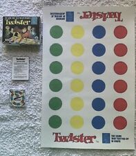 MINIATURE DOLLHOUSE TWISTER GAME 1:6 SCALE 1960'S RETRO BOX TWISTER GAME SO CUTE