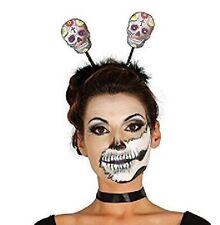 Skull Head Bopper, Day of the Dead, Horror, Halloween Fancy Dress Accessory