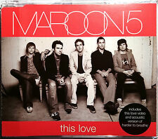 """MAROON 5 """"This Love"""" 3-Track-Maxi-CD 2004"""