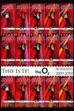 KING OF POP: Michael Jackson  * The O2 50 Nights Tour * Promo Poster 2009