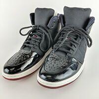 NIKE Air Jordan 1 Retro 95 Txt Black True Red-White Shoes 616369-001 US Size 12