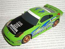 Scalextric-nissan 350Z drift vert-exc. cdn.
