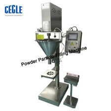 Powder Particle Filling Machine for Tea,Seed,Grain ,Weigh Filler 5000g by sea