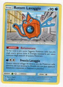Pokemon Rotom lavaggio 40/156 Rara - Ultra Prisma ITA Mint