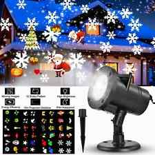 Outdoor LED Projector Lights IP44 Waterproof Dynamic Landscape Spotlights Decor