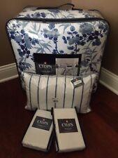 7pc CHAPS Mandarin Garden QUEEN Comforter Shams Bedskirt Pillow BEDDING Set NWT