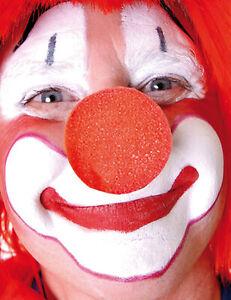 Clownsnase Kostümzubehör rot - Cod.6195