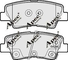 REAR BRAKE PADS FOR HYUNDAI I30 CW GENUINE APEC PAD1870