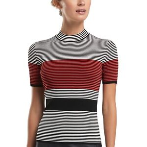 G/Fore Color Block Mock Neck Sweater Top NWT $195 M L XL Womens Golf GFore