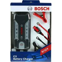 BOSCH Batterieladegerät Automatik-Lader C3 6V/12V 120Ah 0 189 999 03M