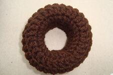 Handmade Crochet Hair Bun Donut Ring Shaper / Styler