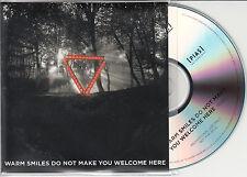 ENTER SHIKARI Warm Smiles Do Not Make You Welcome Here UK promo test CD edit