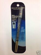 Max Factor High Definition Kohliner Eyeliner + Blender Tip MIDNIGHT #107 NEW.