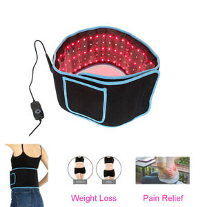 Led Therapy Wrap Belt 660Nm 850Nm Infrared Pain Relief Weight Loss Light Belt