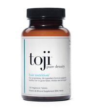 Toji Pure Density: Hair Nutrition 30 Day Supply Vegetarian Vitamin Supplement
