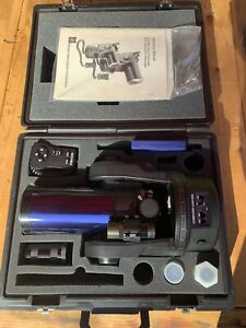 Meade ETX-90EC Astro Telescope With Case Purple Tube With Camera Tube & Filters