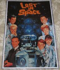 Lost In Space 1965 Replica Entire Cast Tv Poster