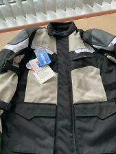 L / 44 Short Mens Texpeed Black Textile Waterproof Motorcycle / Motorbike Jacket
