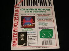 L'AUDIOPHILE<>JULY 1990<>RARE FRENCH AUDIO MAGAZINE°#11 (NEW SERIE) (54)